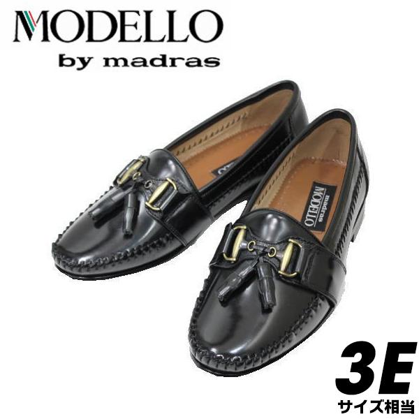 madras モデーロ6129黒3E【靴】