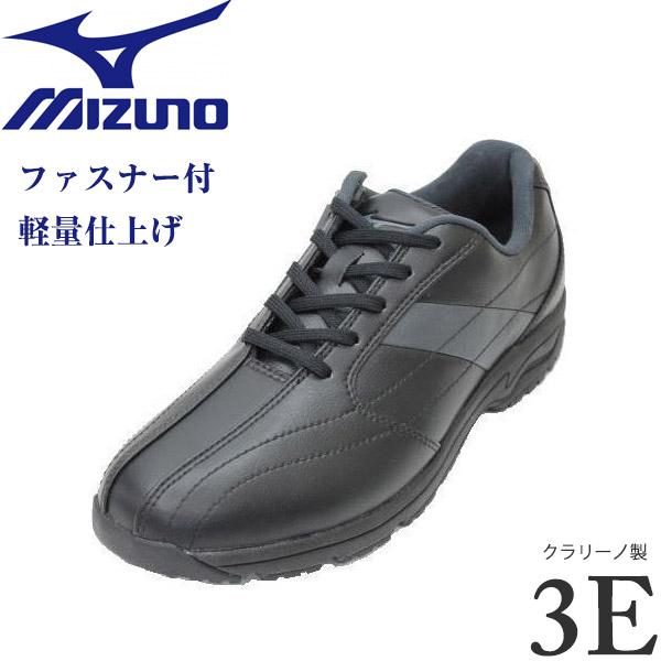 ミズノ MIZUNO LD-CA3 黒 3E (B1GC162009)メンズウォーキングシューズ 靴