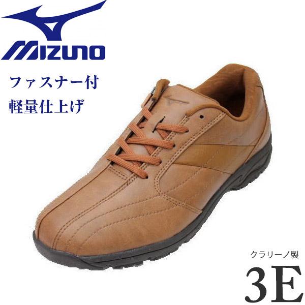 ミズノ MIZUNO LD-CA3 ライトブラウン 3E (B1GC162051)メンズウォーキングシューズ 靴