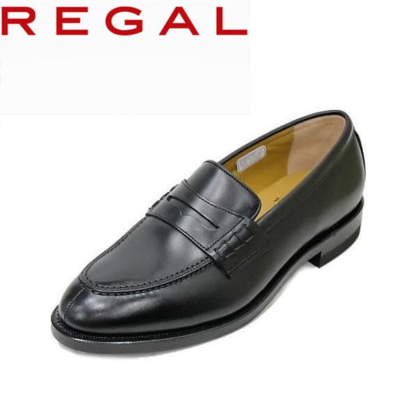 REGAL リーガル 靴 ローファー JE02黒 3EAH リーガルビジネスシューズ