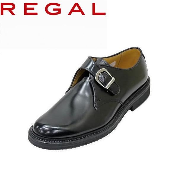 リーガルビジネスシューズ REGALモンクストラップJU16AG 黒 【リーガル】【靴】