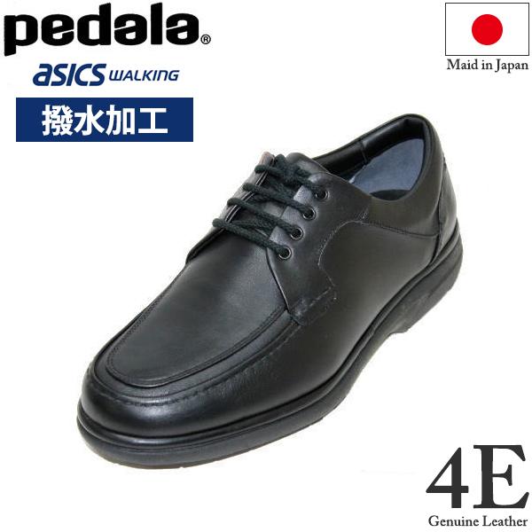 アシックス(ASICS) ペダラ PEDALA WPR423 4E 黒(ブラック)メンズ(男性用) 本革 撥水(撥水加工) 24.5cm 25cm 25.5cm 26cm 26.5cm 27cm