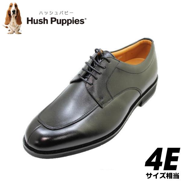 HUSH-PUPPIES(ハッシュパピー)メンズビジネス M248N(M0248N) 黒(ブラック)4E革靴 メンズシューズ ビジネスシューズ メンズ用(男性用)本革(レザー)日本製 24.5cm 25cm 25.5cm 26cm 26.5cm 27cm