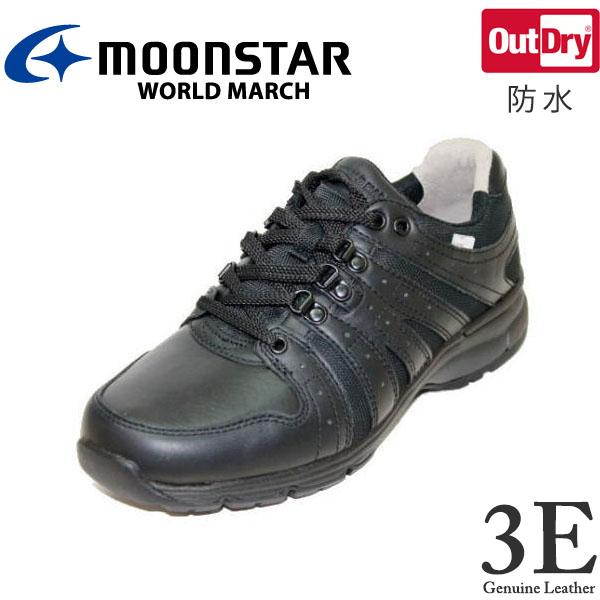 ウォーキングシューズ ワールドマーチ WM9002 黒 3E 紳士靴 防水【靴】【クツ】【くつ】【シューズ】【shoes】