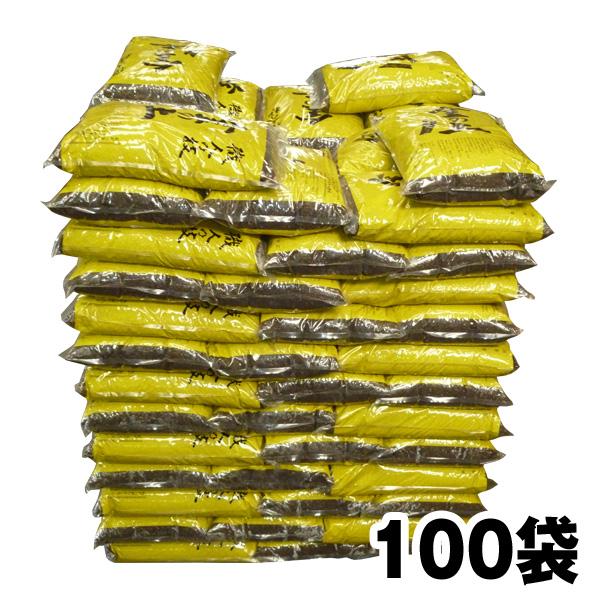 『放射能測定済み』 【金の土・16L】100袋セット 『プランター約200個分』 『花壇・畑 畳約10畳分(約4m×5m)』 (送料無料!)【代引き手数料無料】