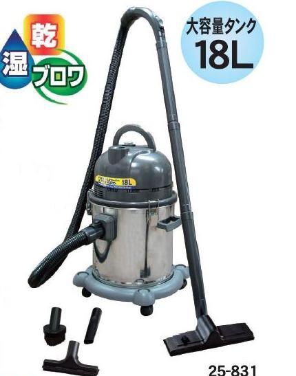 CUSTOM KOBOステンレス バキュームクリーナー乾湿両用型&ブロアー掃除機VAC-2500S【smtb-k】【w3】