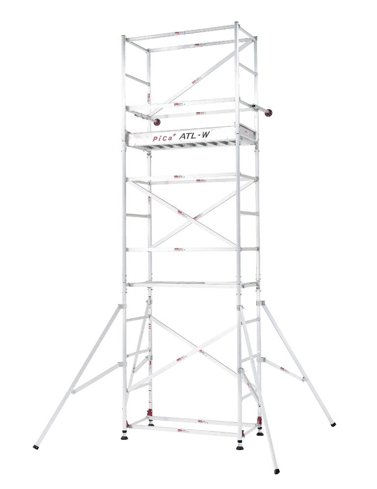 ピカコーポレイション パイプ式足場 ハッスルタワーATL-3AJS アルミ製【smtb-k】【w3】