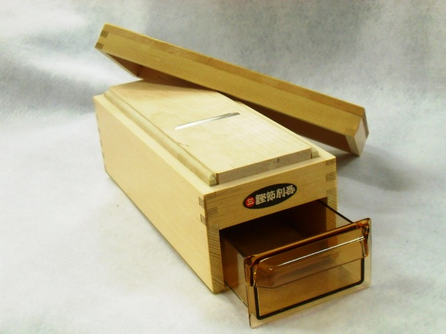 信託 当日出荷 可能 納期はご確認下さい 鰹節削り器 木製かつ箱 日本メーカー新品 木製小柳産業 東北~九州 鰹箱 L型 あす楽対応