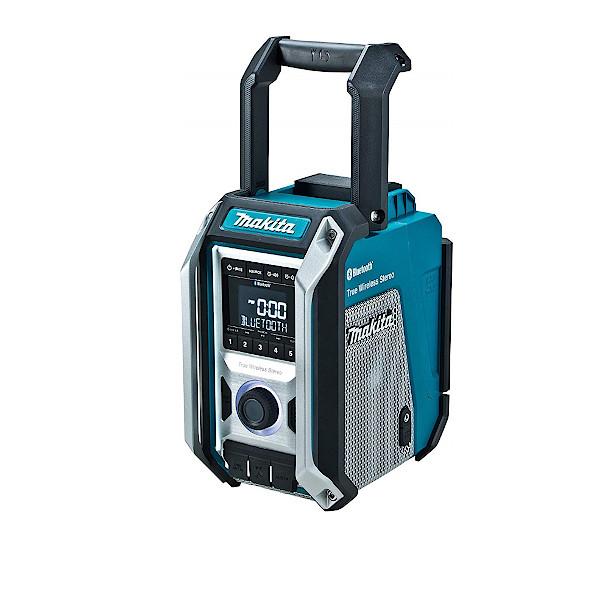 充電式ラジオ 【マキタ】 MR113 青 スライド式リチウムイオン10.8V~18V・AC 100V Bluetooth接続 【バッテリ・充電器別売】