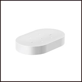【エントリーでポイントさらに5倍】石鹸置き 【LAMP】 スガツネ 【HEWI】 800-02-01005 ガラス製/マット仕上