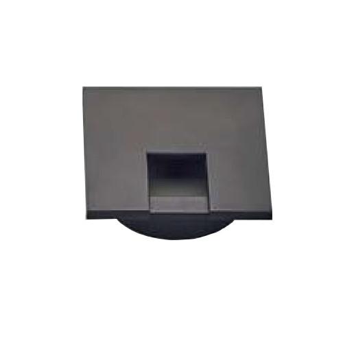 スガツネ 角型配線孔 全品最安値に挑戦 樹脂製 配線孔キャップ LAMP LS50KS-BL 適応板厚16mm以上 取付穴φ40.5mm 50×50 2020新作 片側はめ込みタイプ ブラック