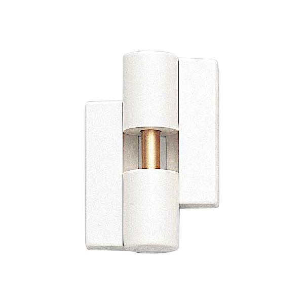 丁番 B9505-50型 【LAMP】 B9505-50L-99-10 左用 色:ホワイト サイズ:54×49 耐荷重40kgf/2ヶ 【箱売り(10個入)】