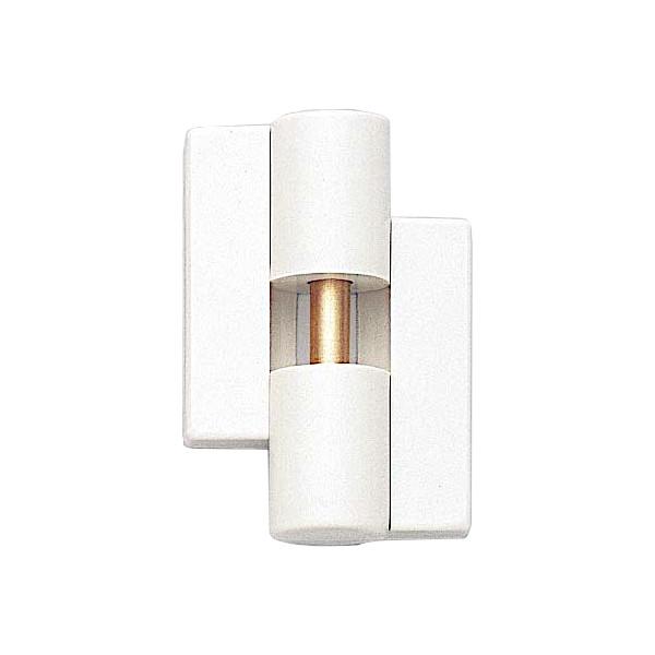 丁番 B9505-50型 【LAMP】 B9505-50R-99-10 右用 色:ホワイト サイズ:54×49 耐荷重40kgf/2ヶ 【箱売り(10個入)】