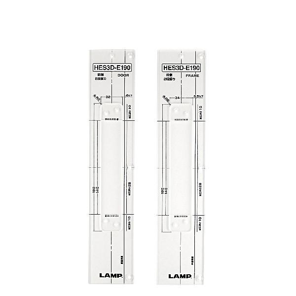 加工治具 HES3D型用 【LAMP】 HES3D-E190-TMP-50 適応丁番:HES3D-E190型 2枚(扉用・枠用) 【箱売り(50個入)】
