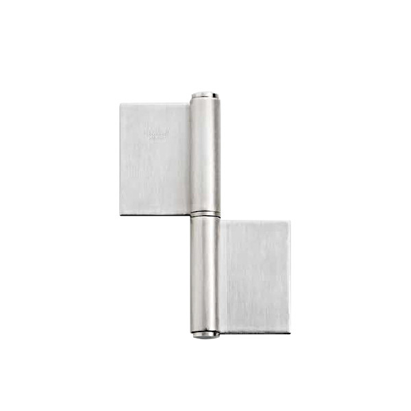 オールステンレス鋼製重量用旗丁番 【LAMP】 HG-LSH-154L-6 左用耐荷重:200kgf/2ヶ 【箱売り(6個入)】
