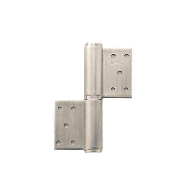 オールステンレス鋼製重量用旗丁番 【LAMP】 HG-LSW-154R-6 右用耐荷重:200kgf/2ヶ 【箱売り(6個入)】