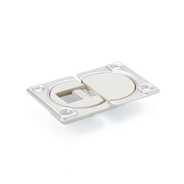 【カバーセット】 【LAMP】 SDH-PC-WT-100ホワイト (ソケット+マウンティングプレート) 【箱売り(100セット入)】
