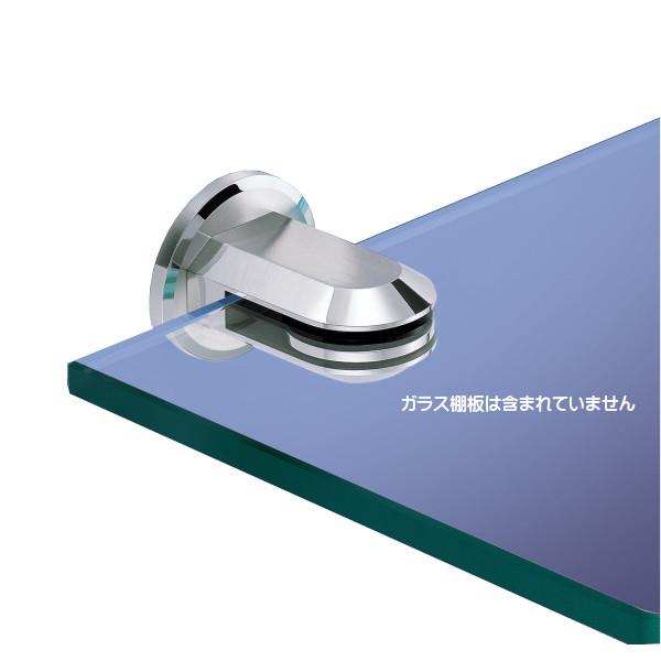 ステンレス鋼製ガラスクランプ 【ZweiL】 ZL-2203 出寸法:68mm ZweiL仕上