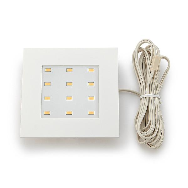 LEDライト 【Hera】 Q78-LED型 [電球色/白色] [3000・4000K] 照射角:110°□84 [3色からお選び下さい]