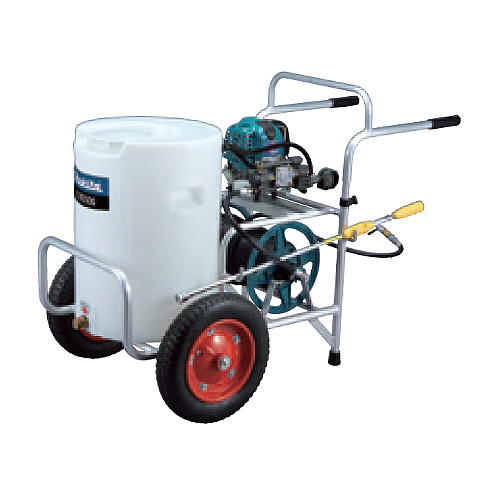 【エントリーでポイントさらに5倍】エンジン噴霧器 【マキタ】 EUS500 50L[タンク容量] プロ向 走行式 排気量24.5mL 4ストローク