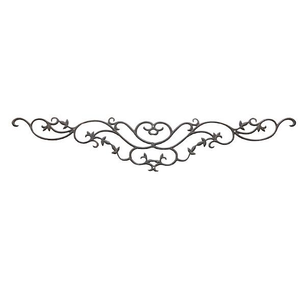 ヴィクトリアルシリーズ アンティーク飾り金 公式 MK mesp-045 ご予約品 真鍮 アンティークブラック サイズ:L980×W195