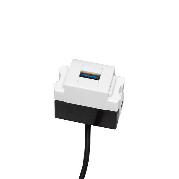 <title>データ通信用USBコネクタ エントリーでポイント5倍 ~5 16 1:59 USBコネクタ お得クーポン発行中 LAMP DM1-USB30-WT ホワイト</title>