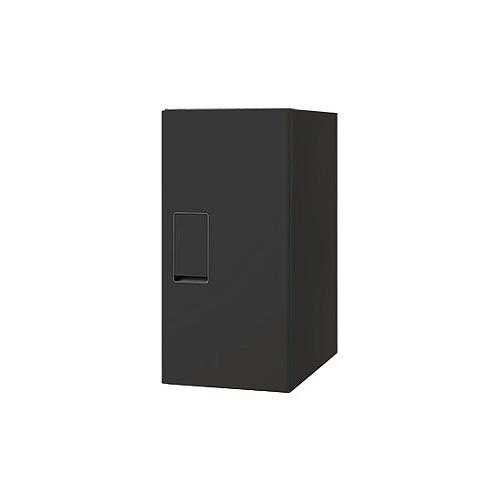 小型宅配ボックス レギュラー 前入前出/防滴タイプ 【nasta】 KS-TLT240-S500-BK ブラック H500×W240×D400