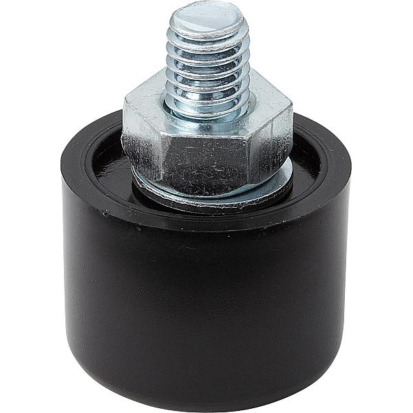 自動調節機能付 アジャスター SAJ型 【LAMP】 スガツネ SAJ30-12-6N3 W3/8×Φ32×H42 【40個入/箱売り品】