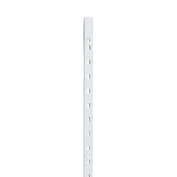 送料無料/新品 面付けOK SUS430製 の 棚柱 白色 棚受 高品質新品 ステンレス製焼付塗装 ホワイト LAMP 代引は不可 白 厚み3mm薄い スガツネ 薄い 日時指定 SPE-1820WT