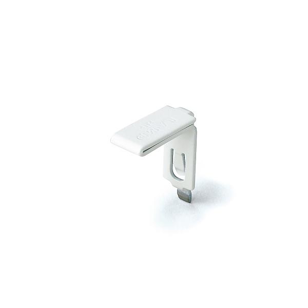 SPE型 棚受 ステンレス/ホワイト焼付塗装 【LAMP】 スガツネ SPE-FB20SWT 【SPE型専用棚受】 ≪300個入/箱売り品≫