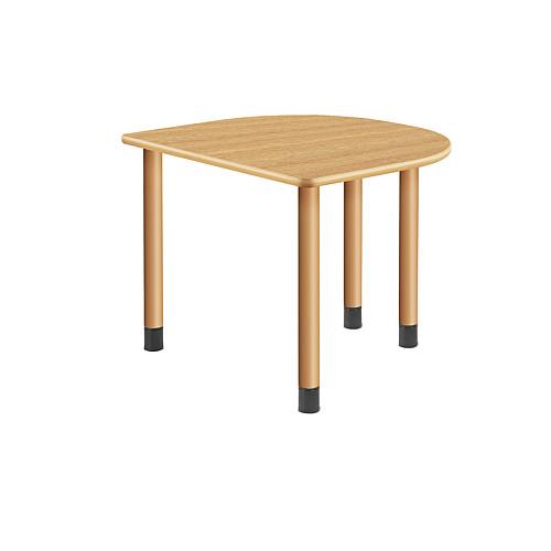【エントリーでポイント10倍♪ 3/21 20:00~】UD Table スタンダードテーブル (継ぎ足し脚付) 【TAC】 UFT-4K9080H-NK-L1 脚:φ60.0×4本
