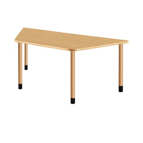 医療 福祉 ベーシックモデル 色:NK(ナチュラルオーク) 4本固定脚  UD Table スタンダードテーブル (継ぎ足し脚付) 【TAC】 UFT-4KD9018-NK-L1 脚:φ60.0×4本