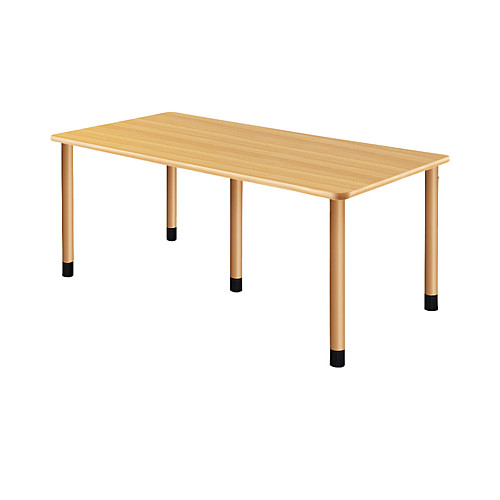 UD Table スタンダードテーブル (継ぎ足し脚付) 【TAC】 UFT-5K1890-NK-L1 脚:φ60.0×5本