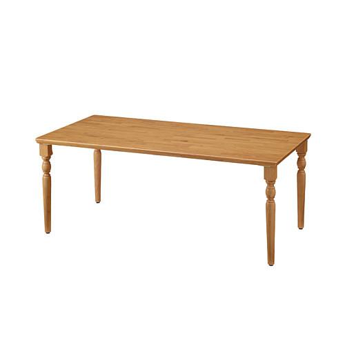 【エントリーでポイント10倍♪ 3/21 20:00~】UD Table 天然木テーブル(R縁) 【TAC】 UFTRCT1890-4CL-NA 脚:クラシックタイプ