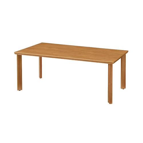 UD Table 天然木テーブル(R縁) 【TAC】 UFTRCT1890-4SL-NA 脚:ストレートタイプ
