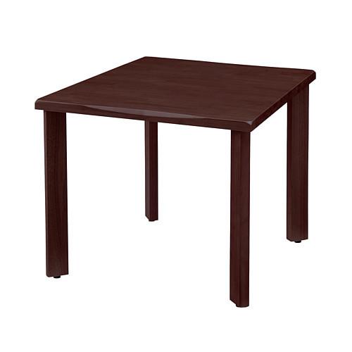 UD Table 天然木テーブル(なぐり加工縁) 【TAC】 UFTRWT9090-4SL-CB 脚:ストレートタイプ