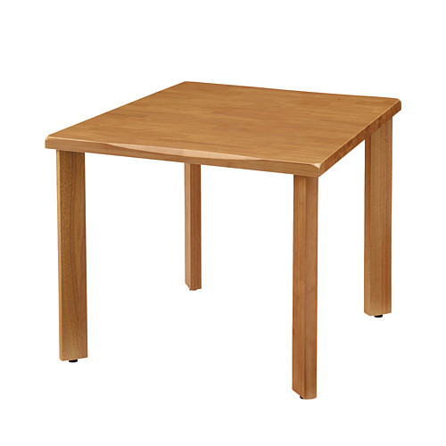 UD Table 天然木テーブル(なぐり加工縁) 【TAC】 UFTRWT9090-4SL-NA 脚:ストレートタイプ
