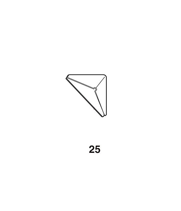 安全 にご使用なれるよう クッション をお使いください コーナーガード 【 ロイヤル 】 透明軟質樹脂 WFC-25 [サイズ:△25×25×25][両面テープ付]