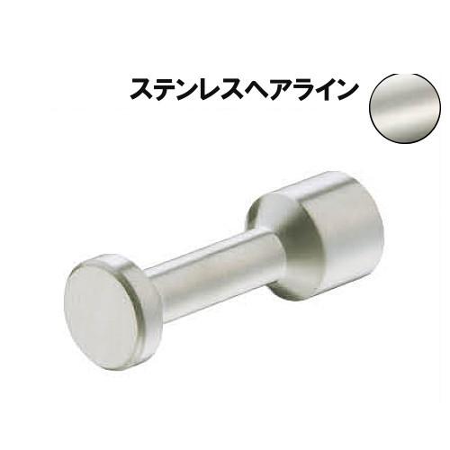 ステンレスボビンフック 【白熊】 WB ST-271-60-HL サイズ:φ20×D60 ヘアライン 10個入/箱売品
