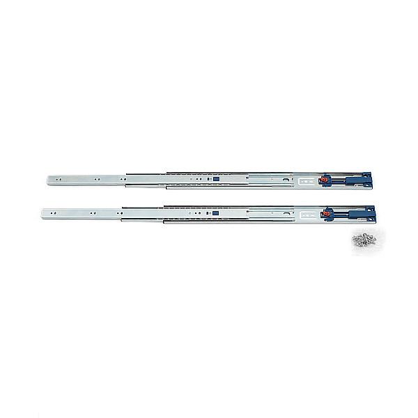 スライドレール 【LAMP】 4670-500 (レール長さ 500mm)(厚み12.5×高さ45.5mm) 【左右組:10セット/箱売り】