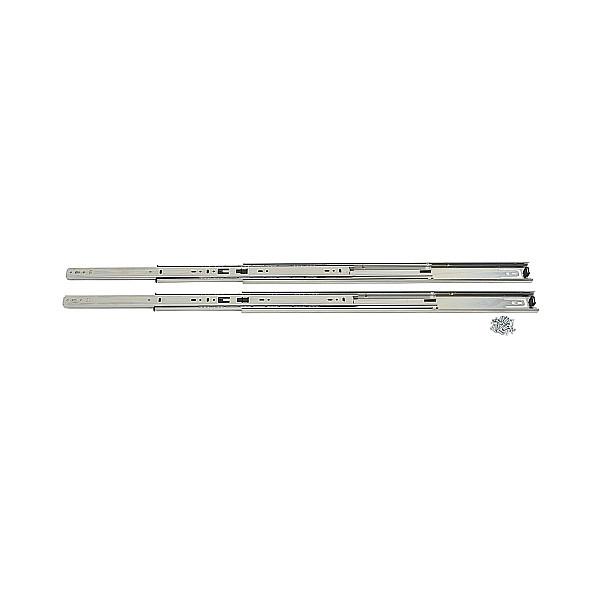 【エントリーでポイントさらに5倍】3段引 スライドレール 【LAMP】 8400-22 (レール長さ 558.8mm)(厚み12.7×高さ45.5mm) 【10セット/箱売り】
