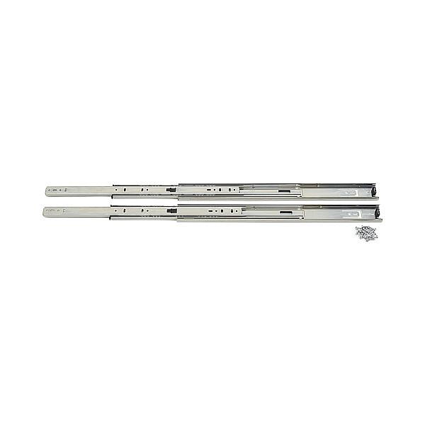 【エントリーでポイントさらに5倍】3段引 スライドレール 【LAMP】 8414-18 (レール長さ 457.2mm)(厚み12.7×高さ45.5mm) 【10セット/箱売り】