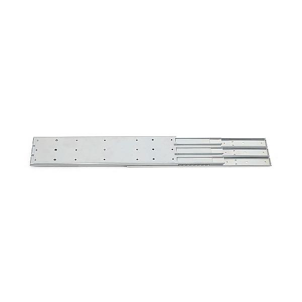 3段引 スライドレール 【Accuride】 C530-18 (レール長さ 457.2mm)(厚み23.8×高さ107.4mm) 【2本/箱売り】
