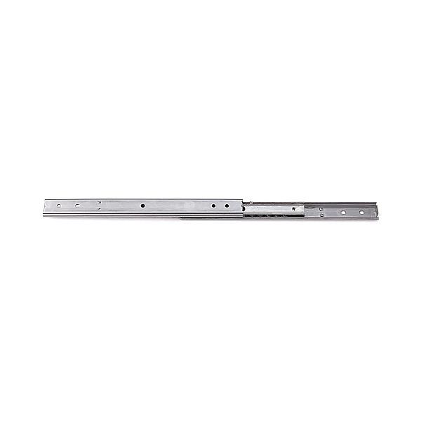 3段引 スライドレール 【LAMP】 SCR3-15-150A (通し穴)Aタイプ (レール長さ 150mm)(厚み9.7×高さ15.5mm) [50本 箱売り]