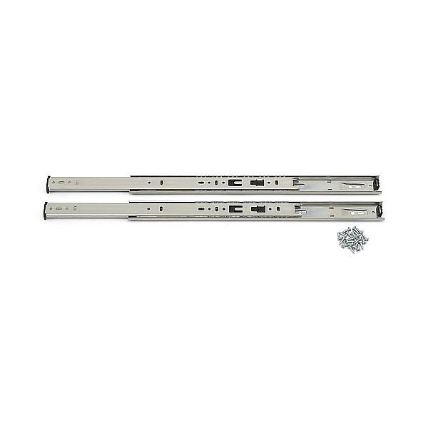 2段引 スライドレール 【LAMP】 8355-16 (レール長さ 406mm)(厚み12.7×高さ35.1mm) 【左右組:10セット/箱売り】