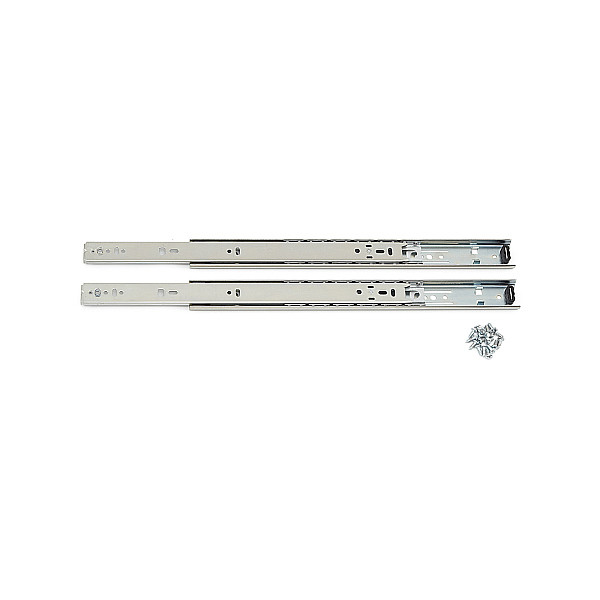 【エントリーでポイントさらに5倍】2段引 スライドレール 【Accuride】 C2132-14 (レール長さ 350mm)(厚み12.7×高さ35mm) 【10セット/箱売り】