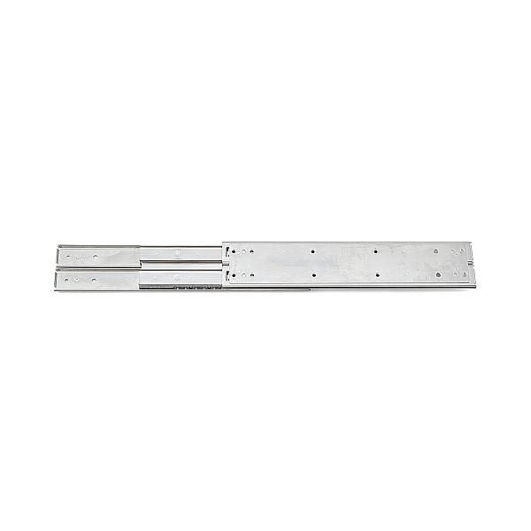 【エントリーでポイントさらに5倍】3段引 スライドレール 【LAMP】 ESR10-14 (レール長さ 255.8mm)(厚み23.2×高さ71.3mm) 【8本/箱売り】