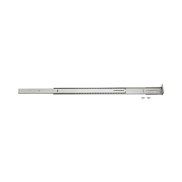 【エントリーでポイントさらに5倍】2段引 スライドレール 【LAMP】 ESR2-20 (レール長さ 527mm)(厚み38.4×高さ9.5mm) 【20本/箱売り】