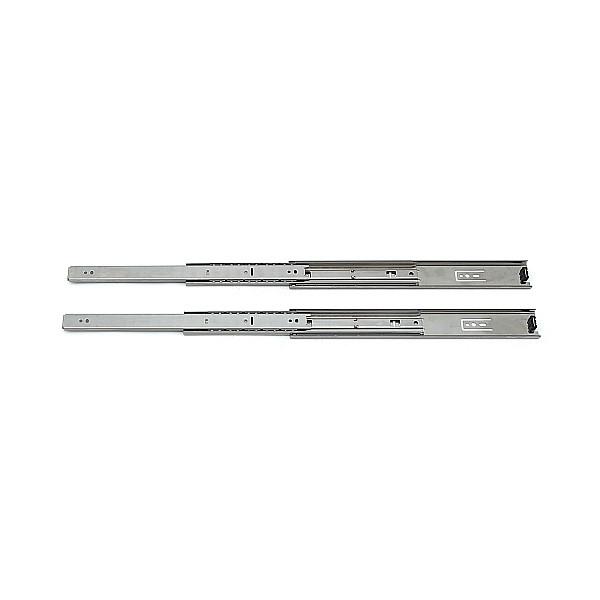 【エントリーでポイントさらに5倍】3段引 スライドレール 【LAMP】 ESR4658-14 (レール長さ 350mm)(厚み12.7×高さ45mm) 【10セット/箱売り】