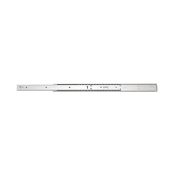 【エントリーでポイントさらに5倍】2段引 スライドレール 【LAMP】 ESR8-18 (レール長さ 457.2mm)(厚み9.6×高さ35.4mm) 【30本/箱売り】